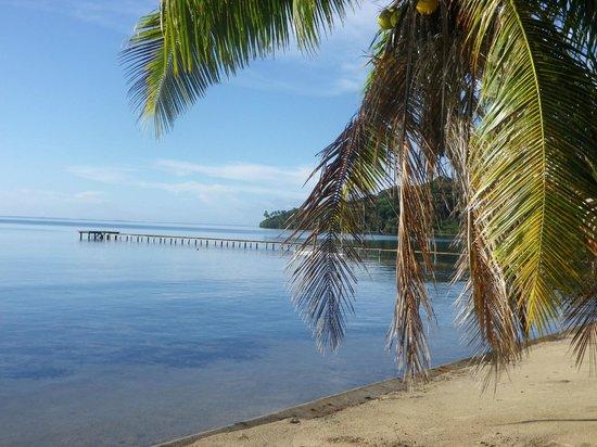 Hotel Atiapiti : Vue du bungalow