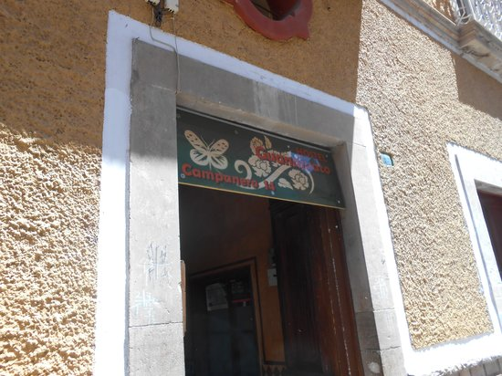 Hostel Guanajuato: entrance
