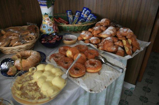 Hotel Europa: la colazione al mattino
