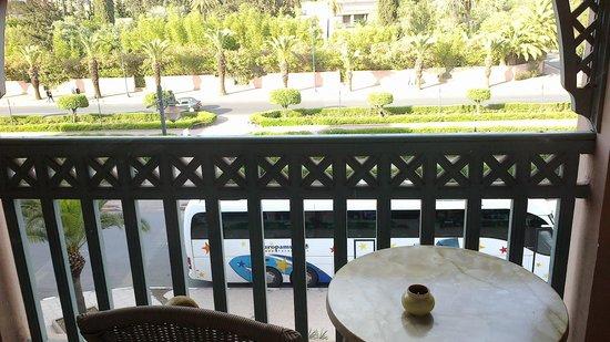 Mogador Express Bab Doukkala: Desde el balcon de la habitacion