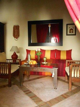 Riad Dar Dialkoum : une chambre