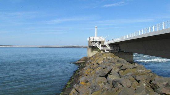 Deltawerken Oosterschelde : North sea side