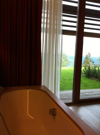 Vigilius Mountain Resort: room with a view!
