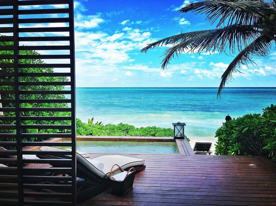 Rosewood Mayakoba: Private plunge pool, ocean view suite