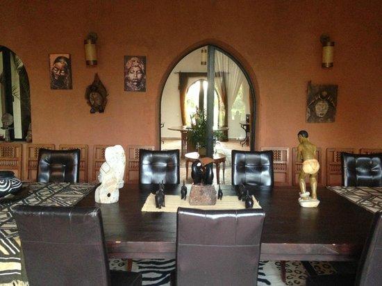 Riad Al Mendili Kasbah: la salle à manger