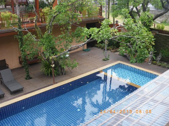 Baan U Sabai Boutique House : Piscina
