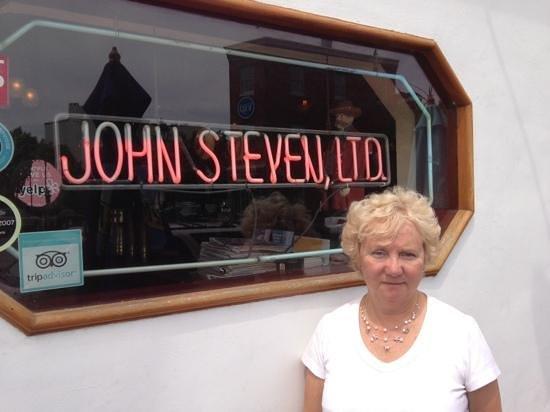John Steven ltd: Front view
