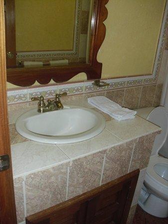 Hotel Real Santander: muy bueno el baño, excelente la ducha.
