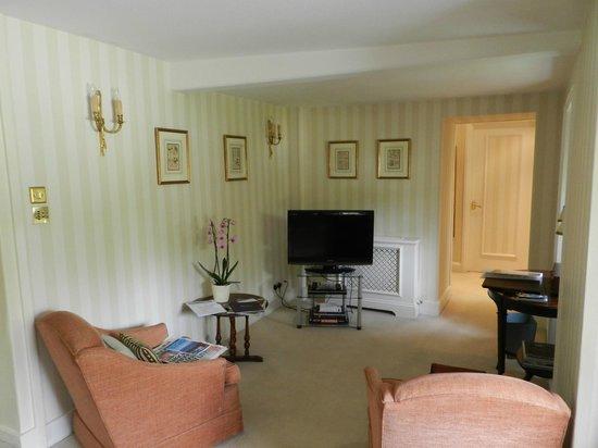 Longueville Manor: Sitting area