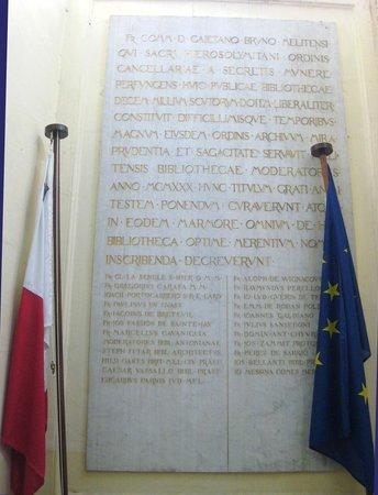 National Library of Malta: The provenance