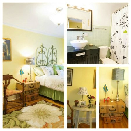 The Flying Frog Bed and Breakfast: Pernilla's Room collage - all rooms are on 2nd floor