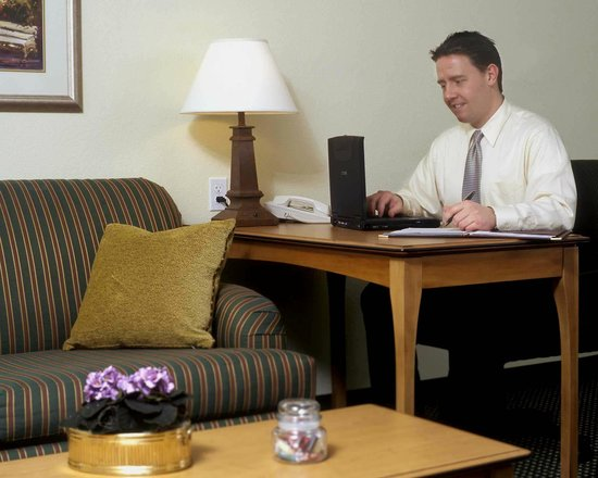 Residence Inn Denver Airport: Suite work area