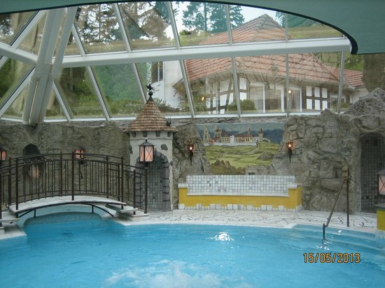 Vila Vita Burghotel Dinklage: Interno piscina