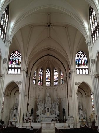 Cathedral of the Immaculate Conception: inside church