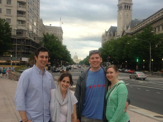 DC Insider Tours : In the final stretch of DC in a Day, and what a view!