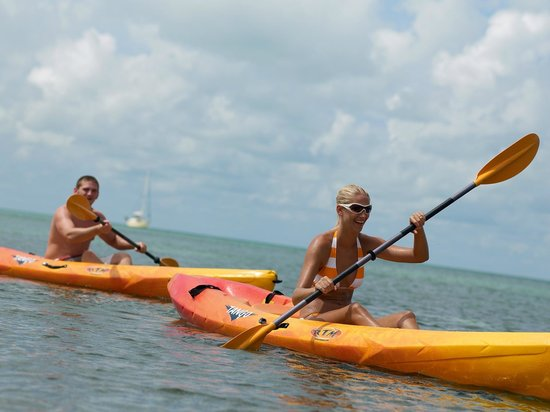 Old Bahama Bay: Kayaks