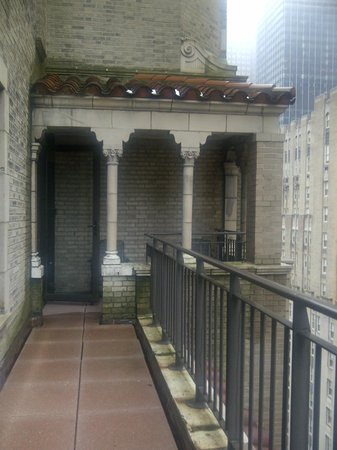The Benjamin: Room Balcony and Portico