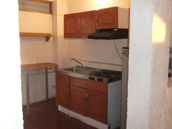Hotel Villa las Brisas: cocina habitacion