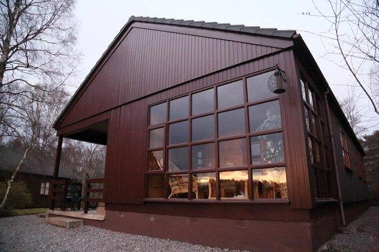 Tullochwood Lodges: Large lodge with sun lounge