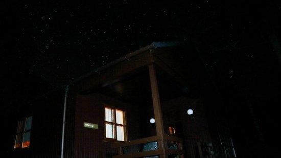 Tullochwood Lodges: Starlit sky