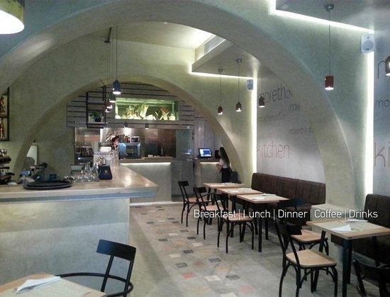 Olla Mykonos: Nice interior