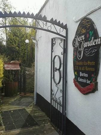 Slieve Bloom Bar: The entrance to the B&B.