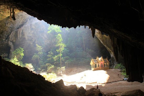 Talay Tara Resort: Local cave