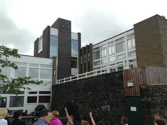 YHA Conwy: View of the Hostel.