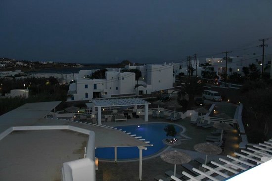 Argo Hotel Mykonos: View from our room