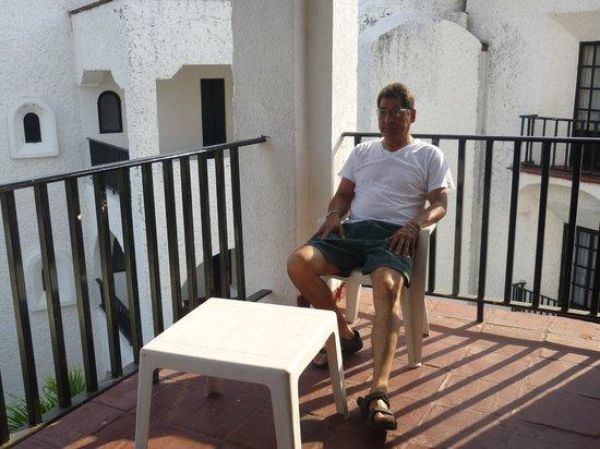 Marina Hotel & Resort: terraza
