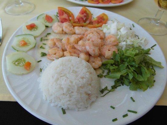La Rampa: Shrimp with Garlic butter...mmmm