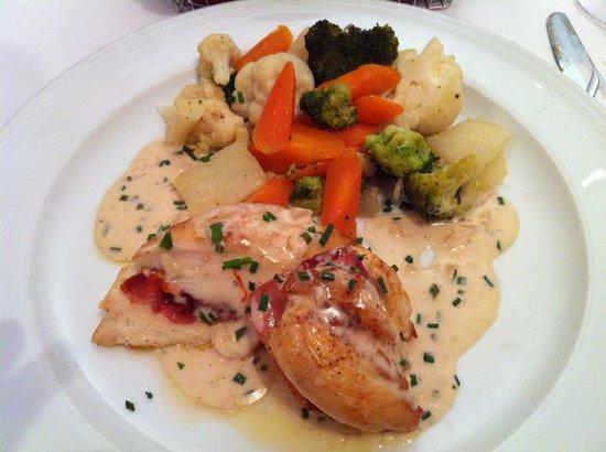 Hotel Restaurant National : Chicken