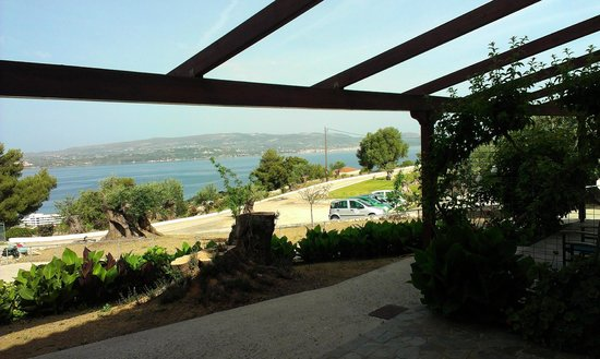 Panorama Village: view from patio of room 2