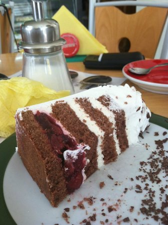 Padaria do Wini : black forest cake