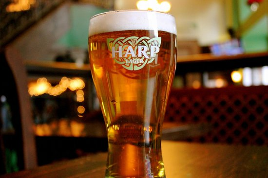 A Delicious Pint Of Harp Lager Picture Of Con Murphy S