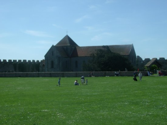 Portchester Castle: The Church within the grounds