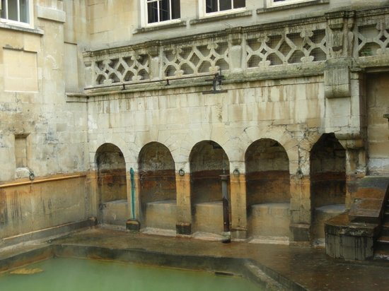 Bathing cubicles for disabled people - Picture of The Roman Baths ...