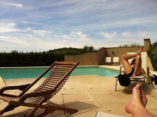 Domaine la Carraire : La piscine