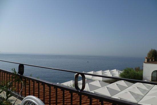 Grand Hotel Baia Verde: view from brakfast terrace