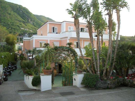 Hotel Terme La Pergola: La Pergola entrance
