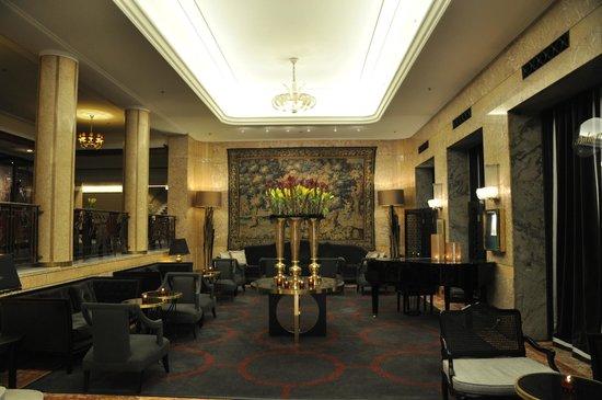 lobby picture of grand hotel oslo tripadvisor. Black Bedroom Furniture Sets. Home Design Ideas