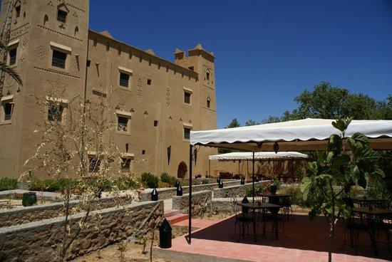 Kasbah Ait Ben Damiette: les jardins et les terrasses