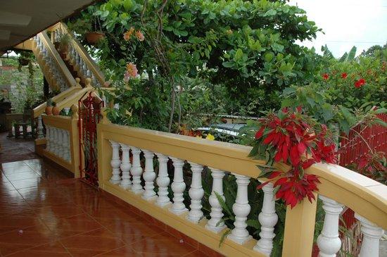 Casa Maria Luisa Alonso: Le patio