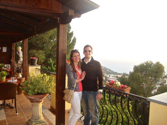 Monte Solaro: Pretty sunset