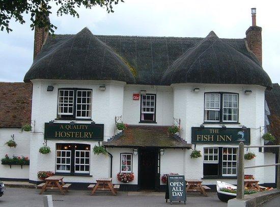 The Fish Inn: The original cottage