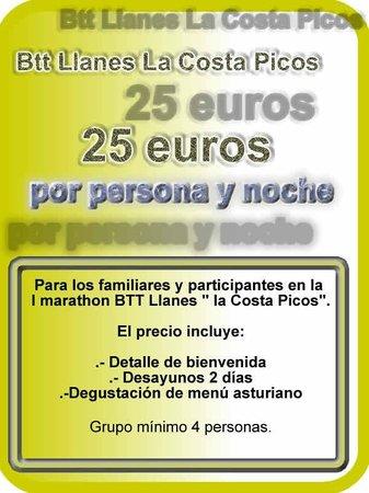 Casa Rural La Boleta: Oferta