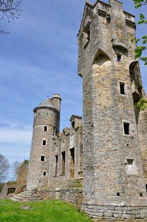 Château de Gratot : tours
