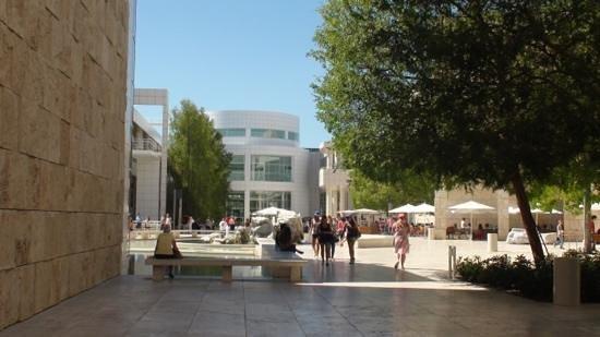 The Getty Center: Adicionar uma legenda