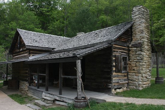 Ordinaire Stone Mountain State Park: Hutchinson Homestead At The Base Of Stone  Mountain