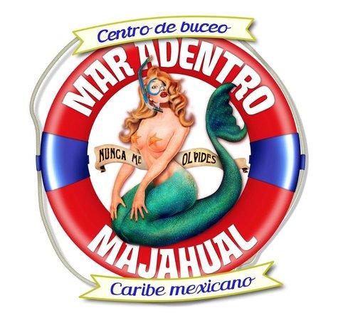 Mar Adentro Diving: Logo